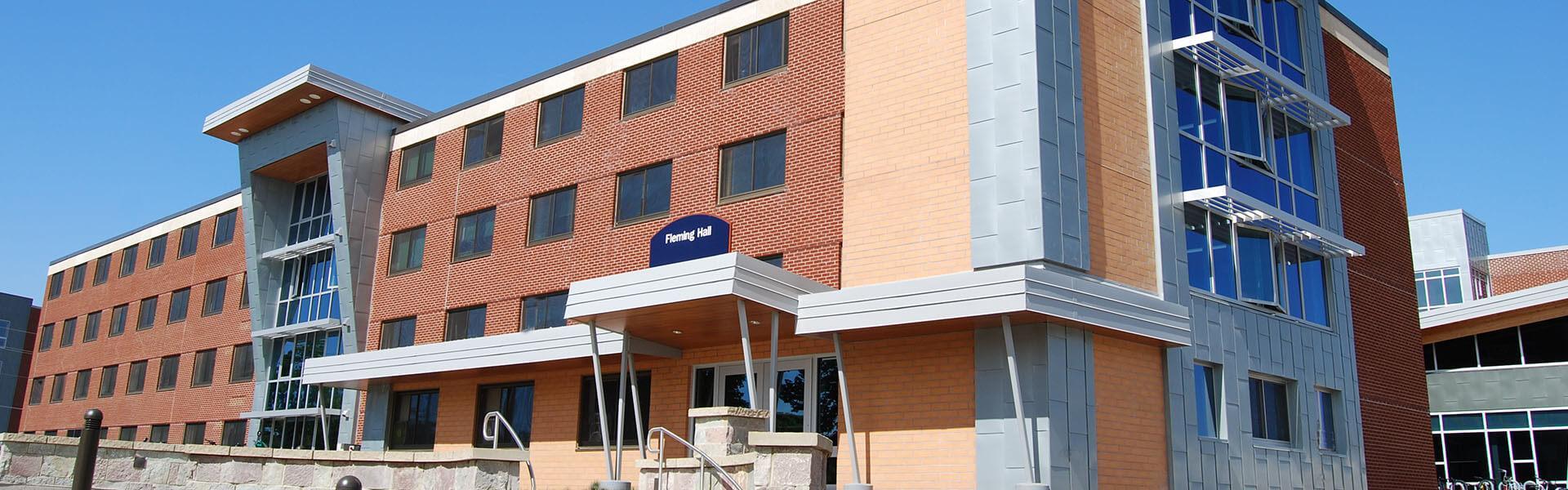 immel-banner_UW Stout - Fleming Hall